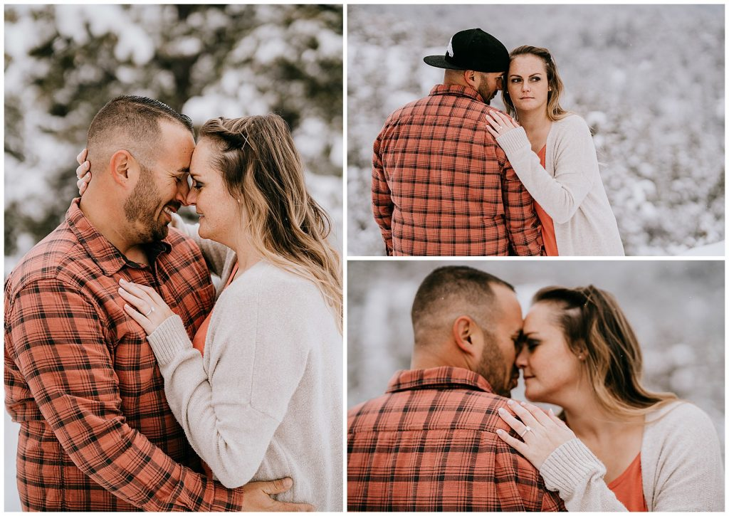 Cate & Cody Engagement Session Lost Gulch Boulder CO 47