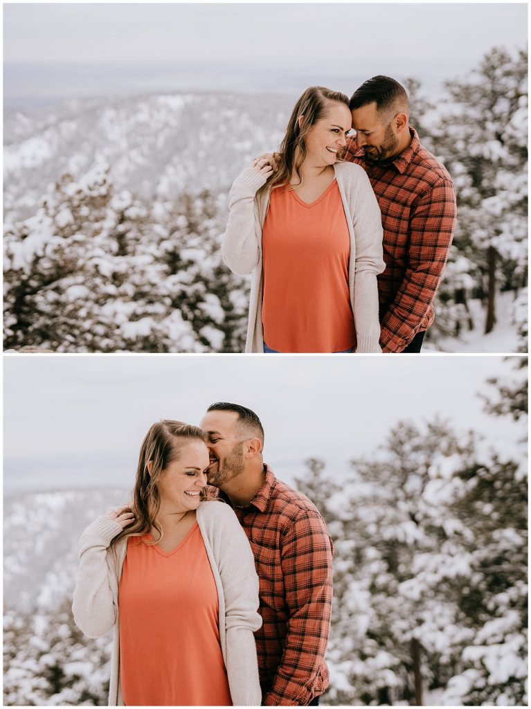 Cate & Cody Engagement Session Lost Gulch Boulder CO 49
