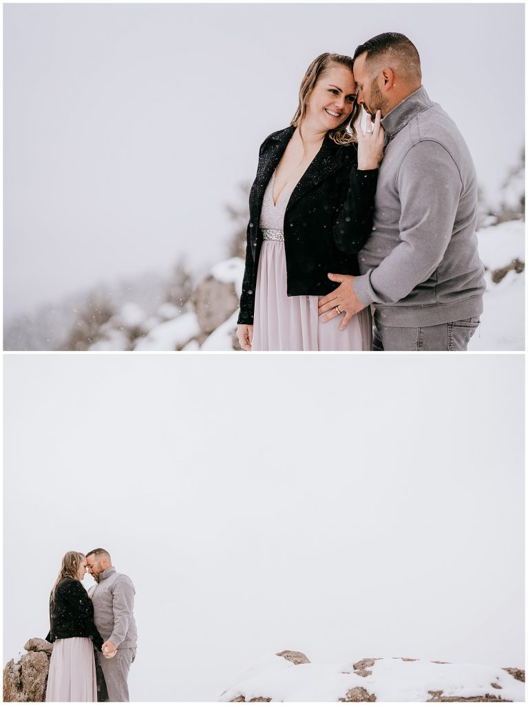 Cate & Cody Engagement Session Lost Gulch Boulder CO 55