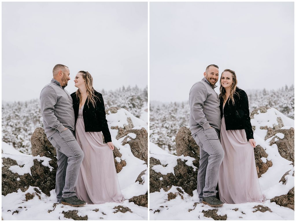 Cate & Cody Engagement Session Lost Gulch Boulder CO 61