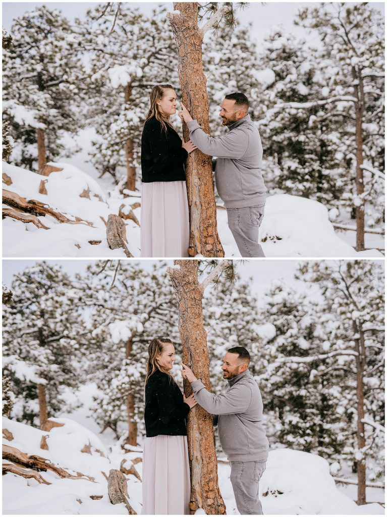 Cate & Cody Engagement Session Lost Gulch Boulder CO 63