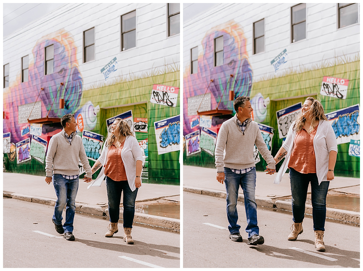 Hannah & Shanna Engagement Session RiNo District Denver CO 47