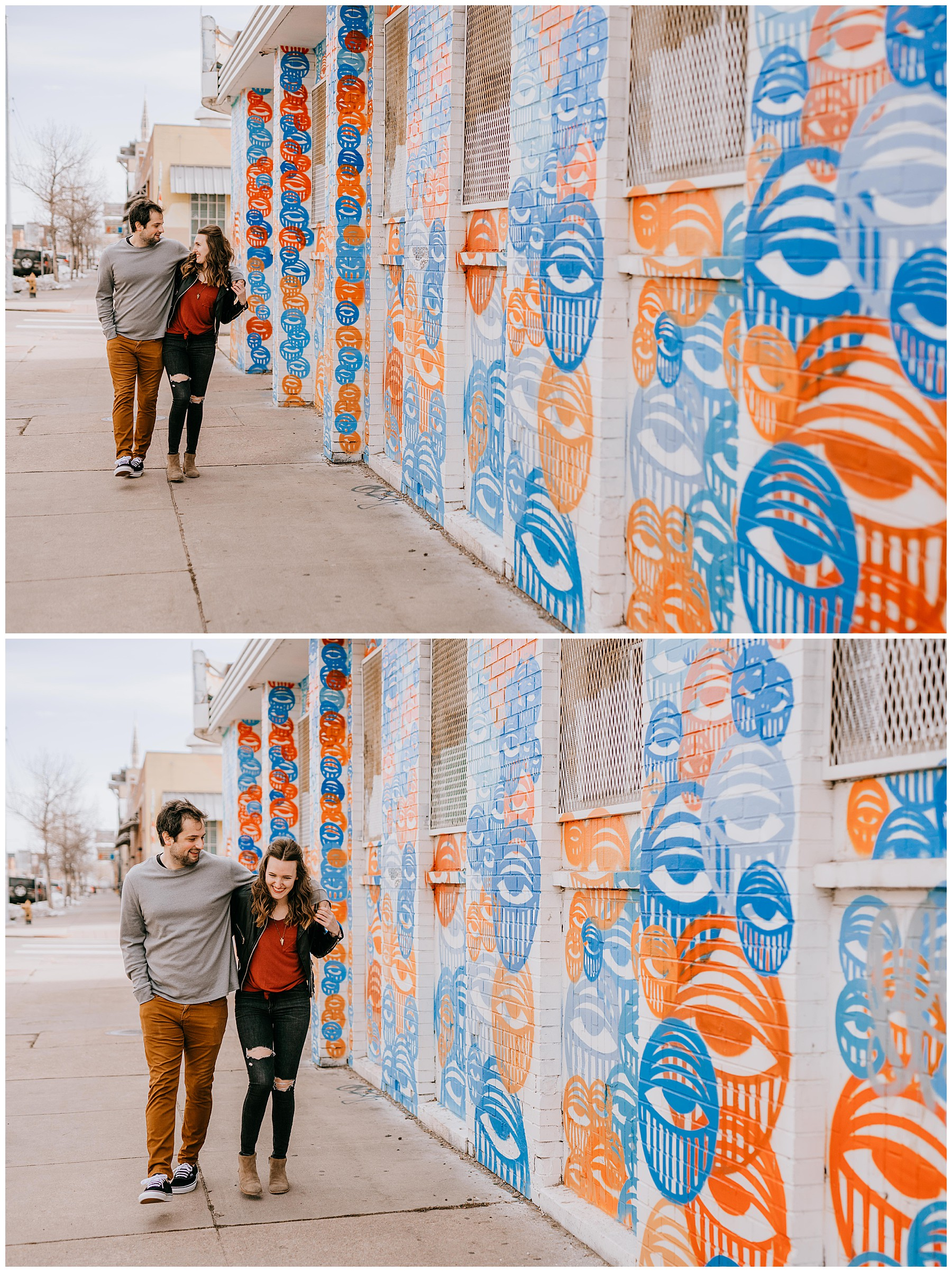 Jozie & Sam Engagement Session RiNo District Denver CO 40