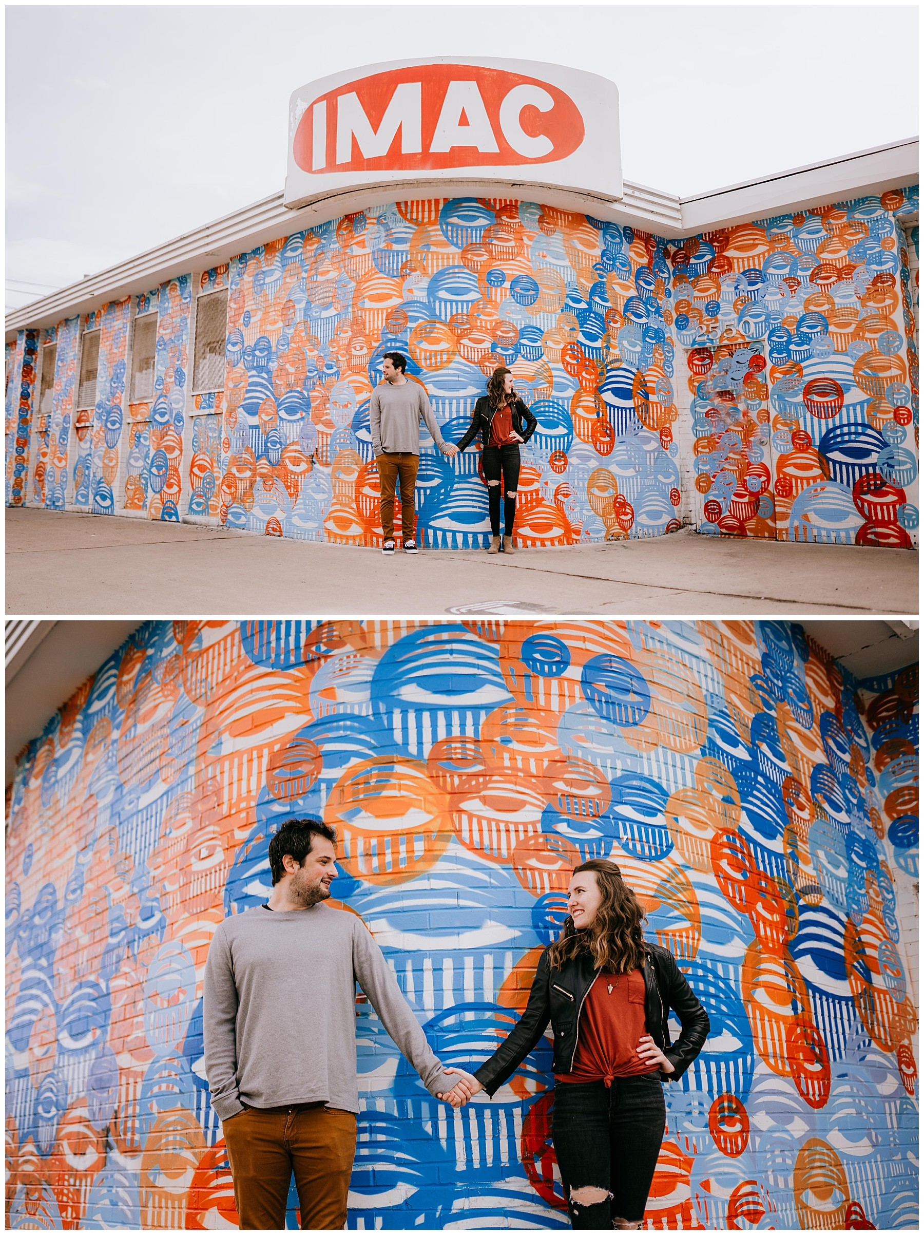 Jozie & Sam Engagement Session RiNo District Denver CO 41