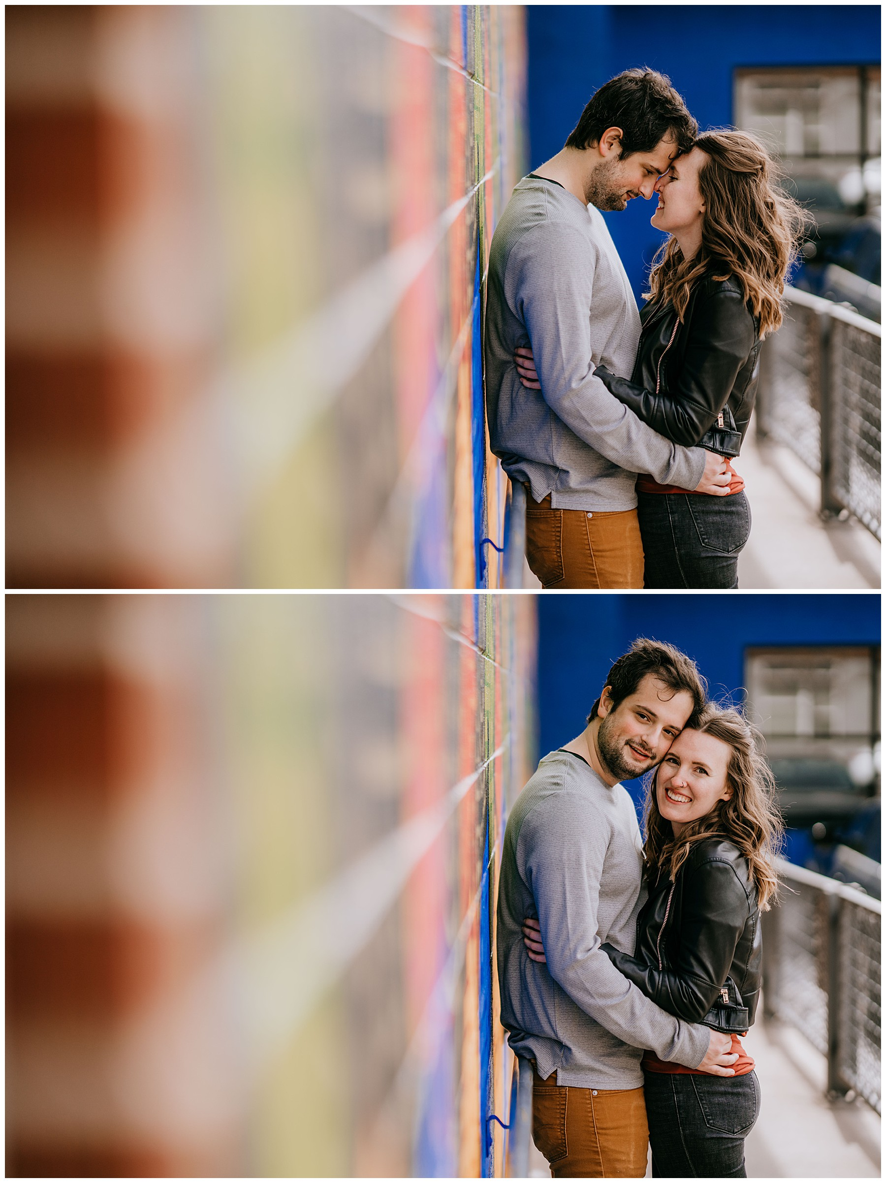 Jozie & Sam Engagement Session RiNo District Denver CO 49