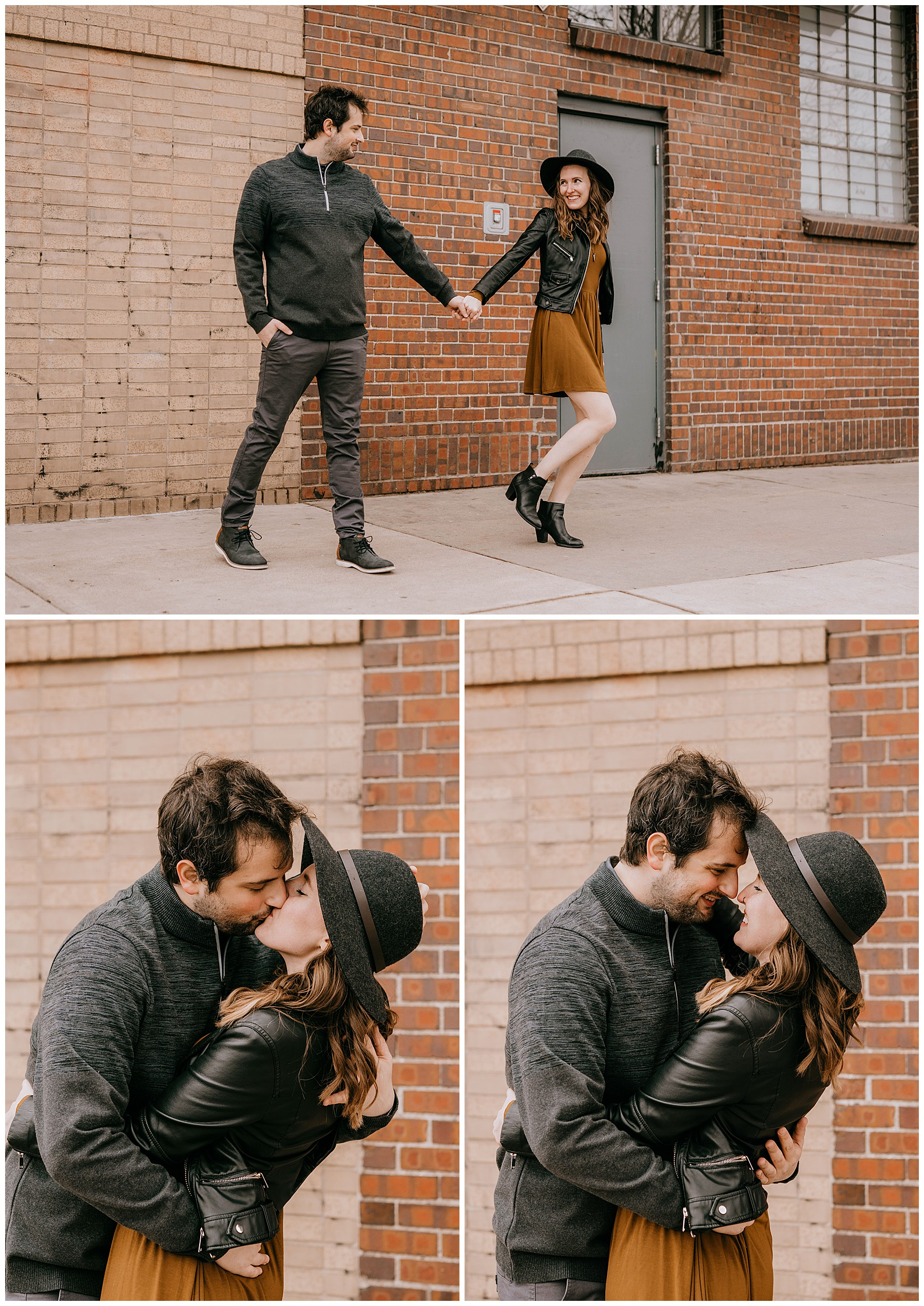 Jozie & Sam Engagement Session RiNo District Denver CO 50