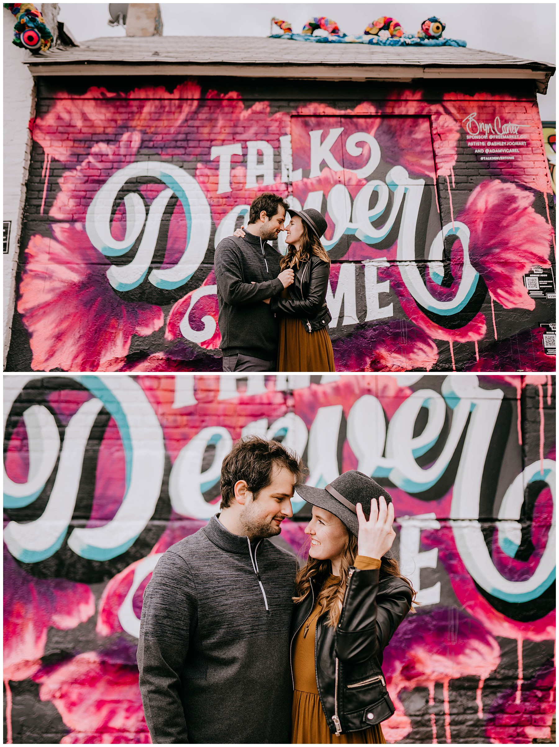 Jozie & Sam Engagement Session RiNo District Denver CO 51
