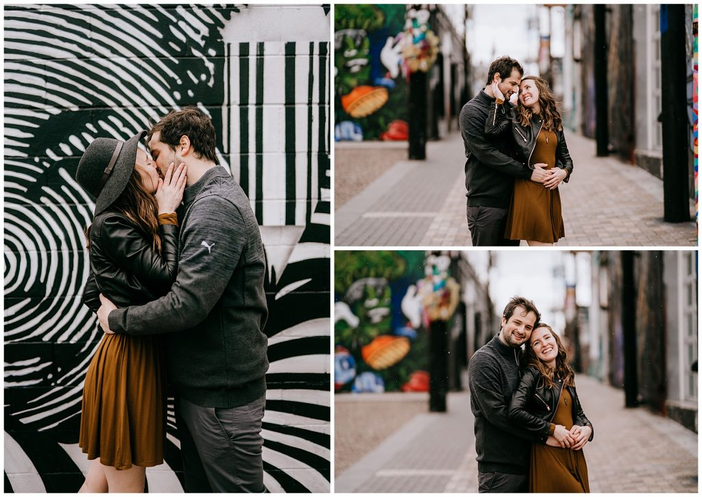 Jozie & Sam Engagement Session RiNo District Denver CO 54