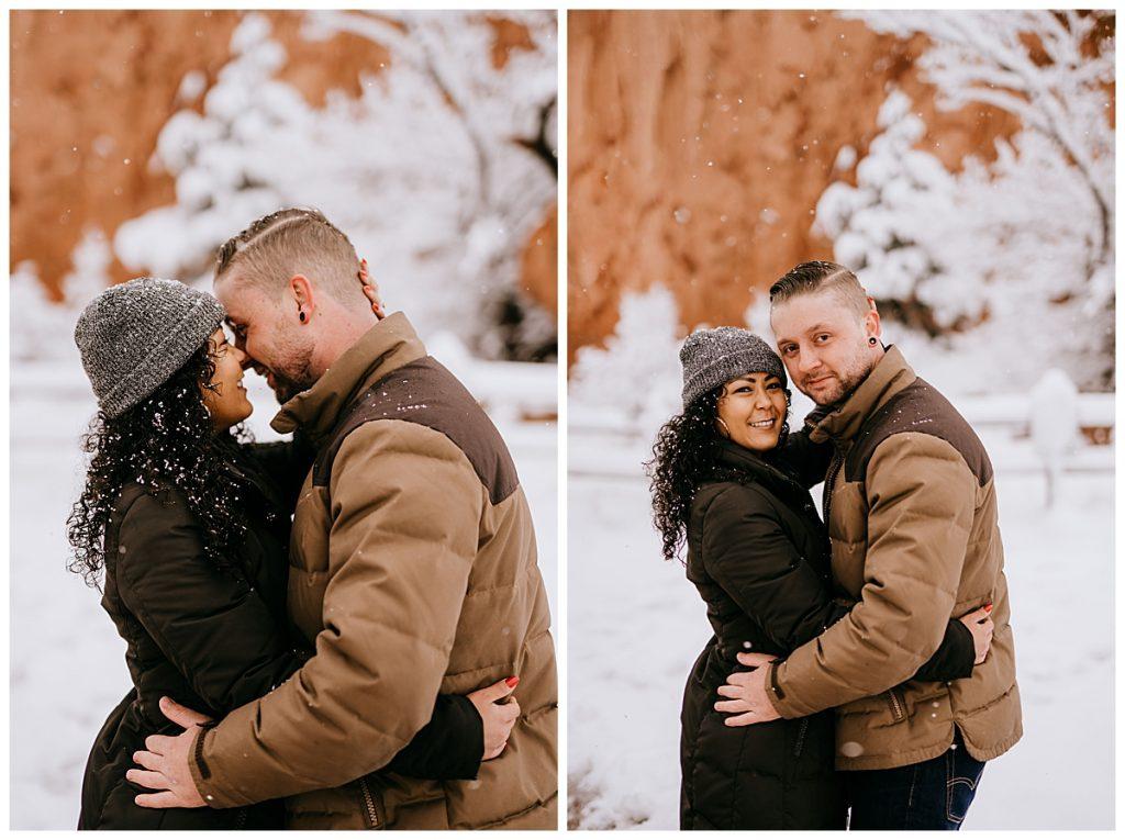 Michelle & Matt Engagement Session Garden of the Gods Colorado Springs CO 73