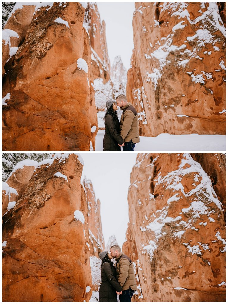 Michelle & Matt Engagement Session Garden of the Gods Colorado Springs CO 61