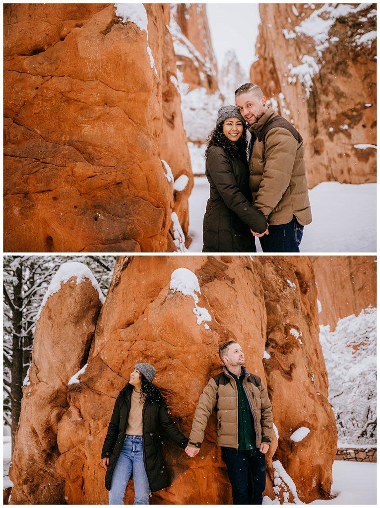 Michelle & Matt Engagement Session Garden of the Gods Colorado Springs CO 62