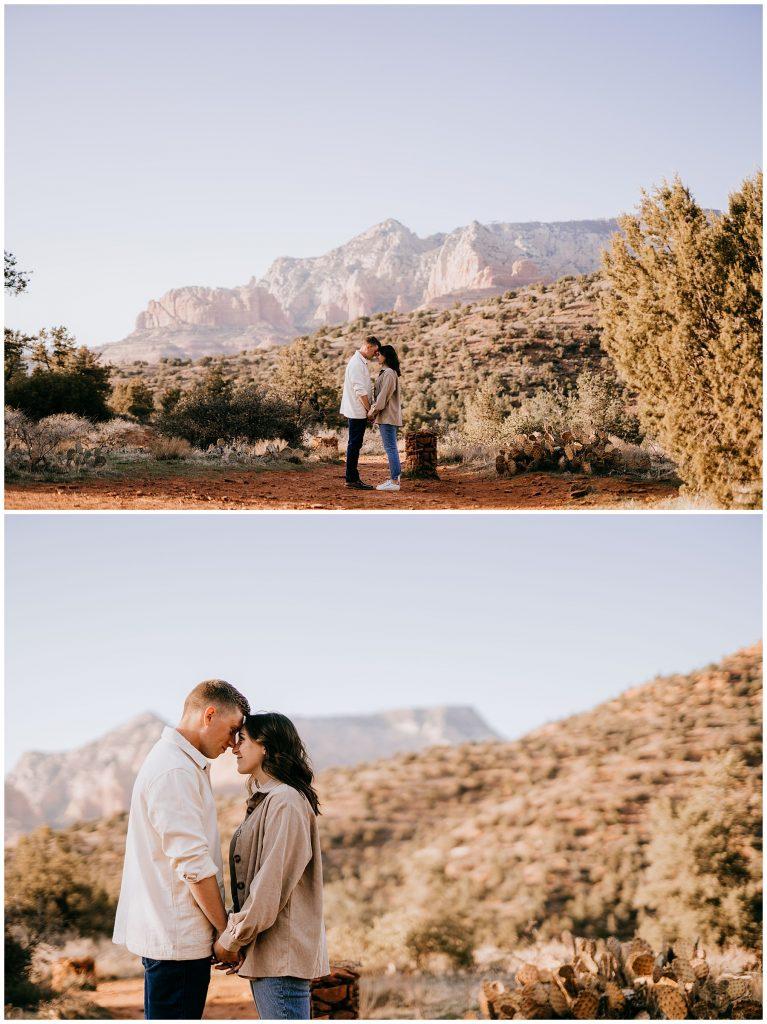 Olivia & Jonathan Engagement Session Bell Rock Sedona AZ 50