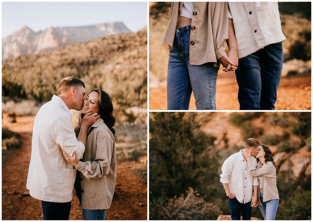 Olivia & Jonathan Engagement Session Bell Rock Sedona AZ 52