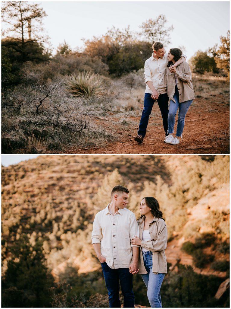 Olivia & Jonathan Engagement Session Bell Rock Sedona AZ 53