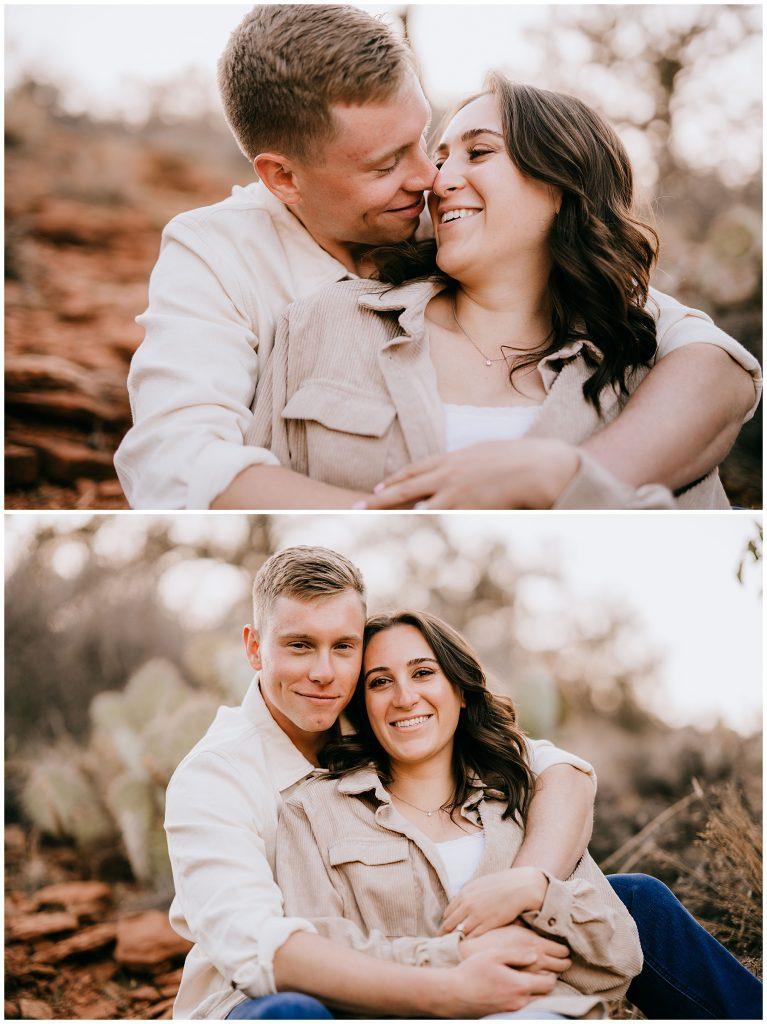 Olivia & Jonathan Engagement Session Bell Rock Sedona AZ 56