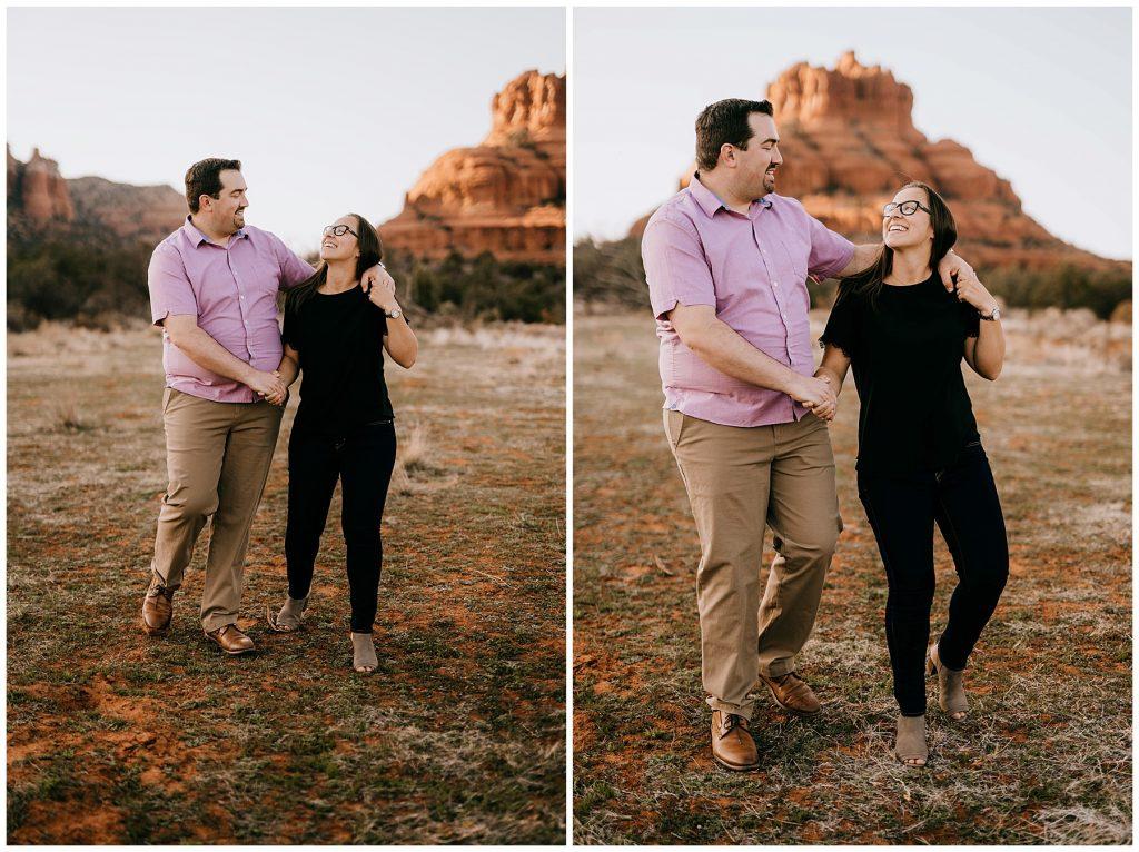 Justin & Leah Engagement Session Sedona AZ 41