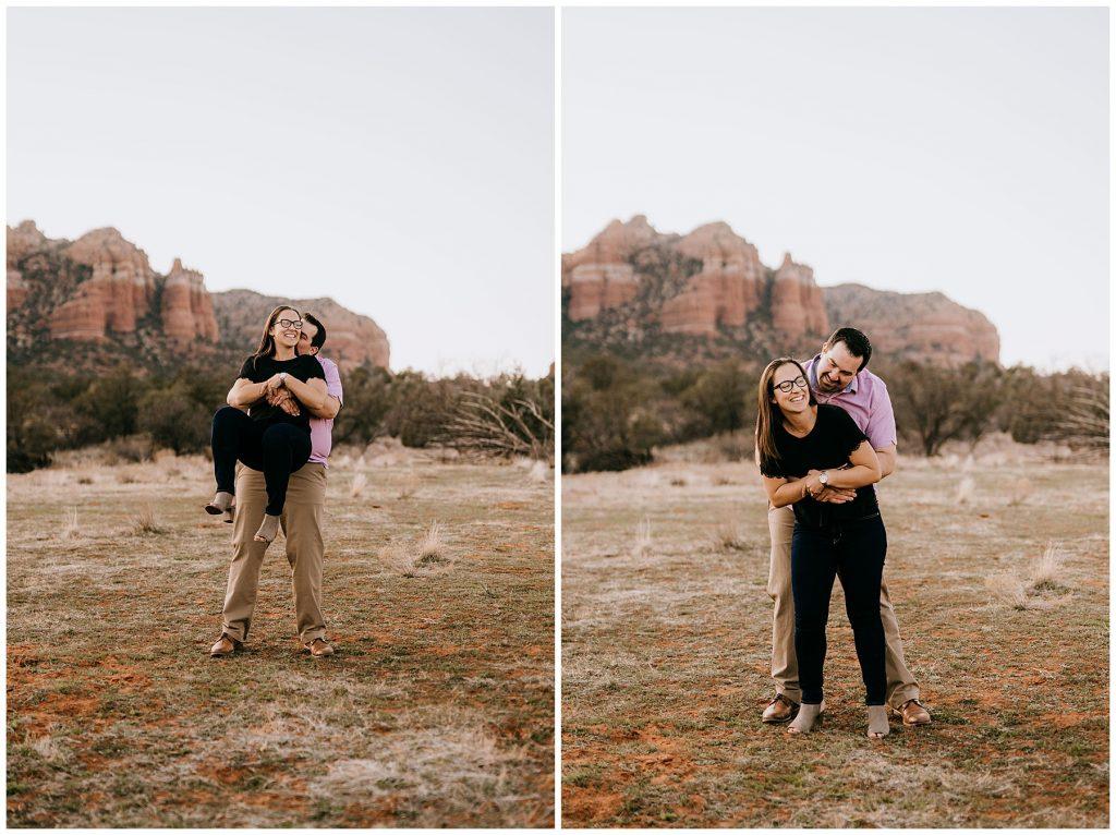 Justin & Leah Engagement Session Sedona AZ 42