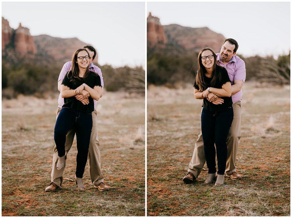 Justin & Leah Engagement Session Sedona AZ 43