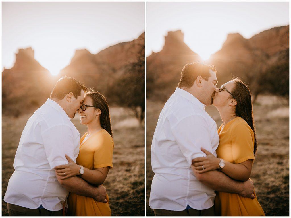 Justin & Leah Engagement Session Sedona AZ 45