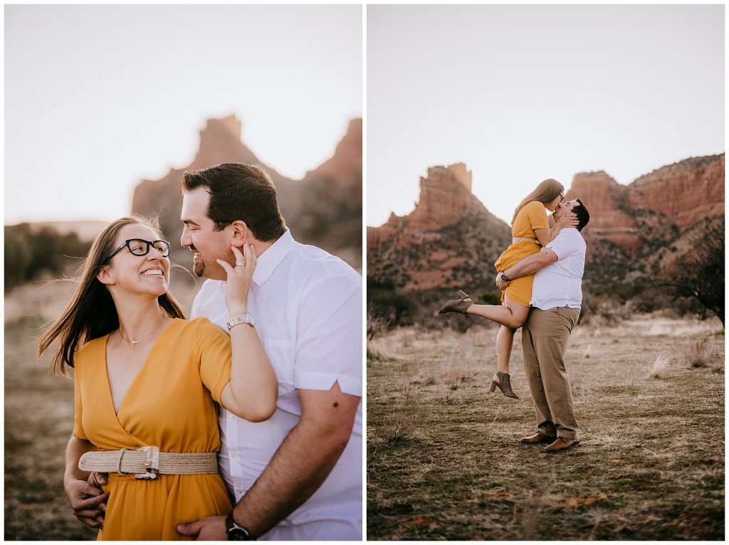 Justin & Leah Engagement Session Sedona AZ 47