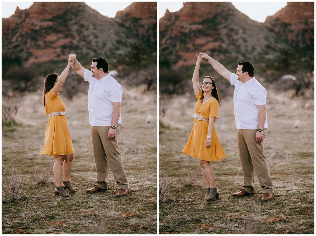 Justin & Leah Engagement Session Sedona AZ 49