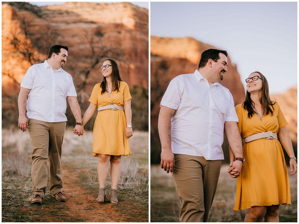 Justin & Leah Engagement Session Sedona AZ 51