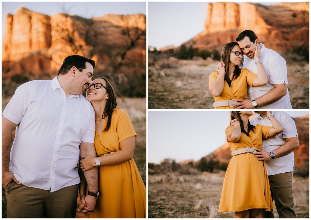 Justin & Leah Engagement Session Sedona AZ 52