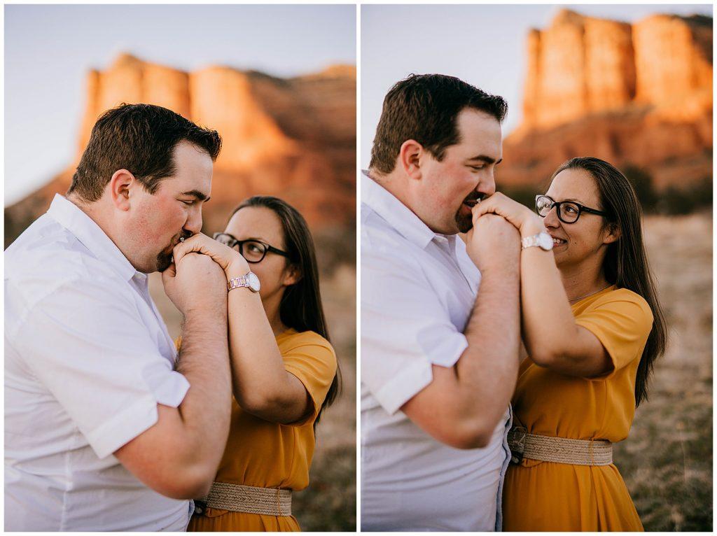 Justin & Leah Engagement Session Sedona AZ 53