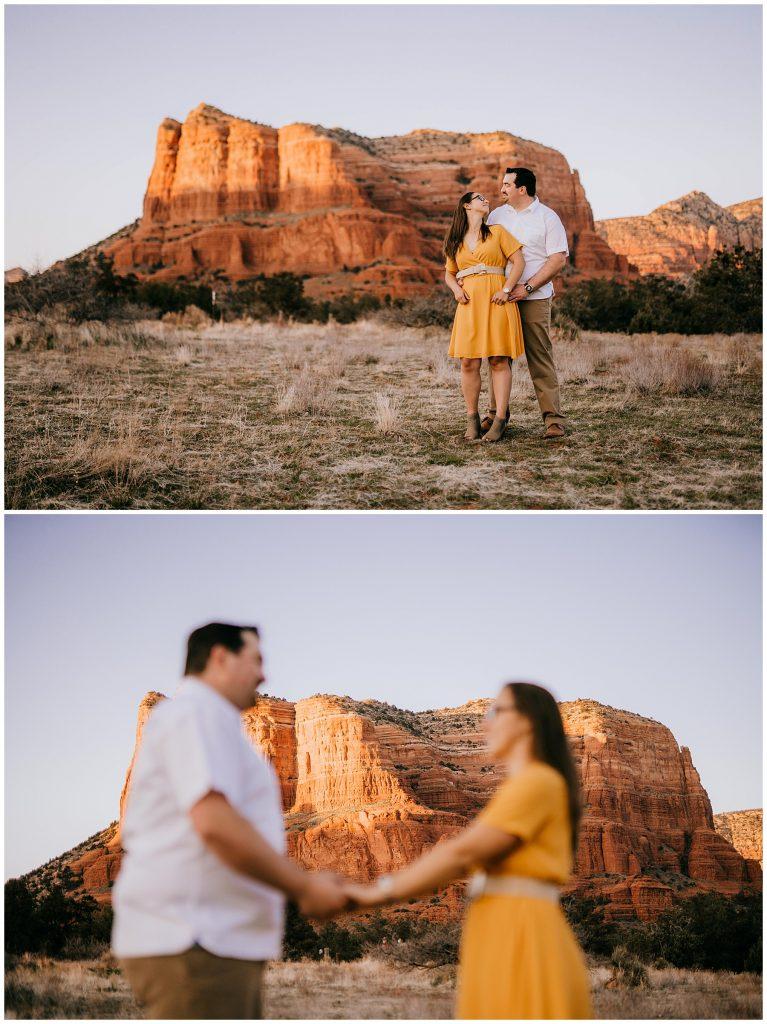 Justin & Leah Engagement Session Sedona AZ 55