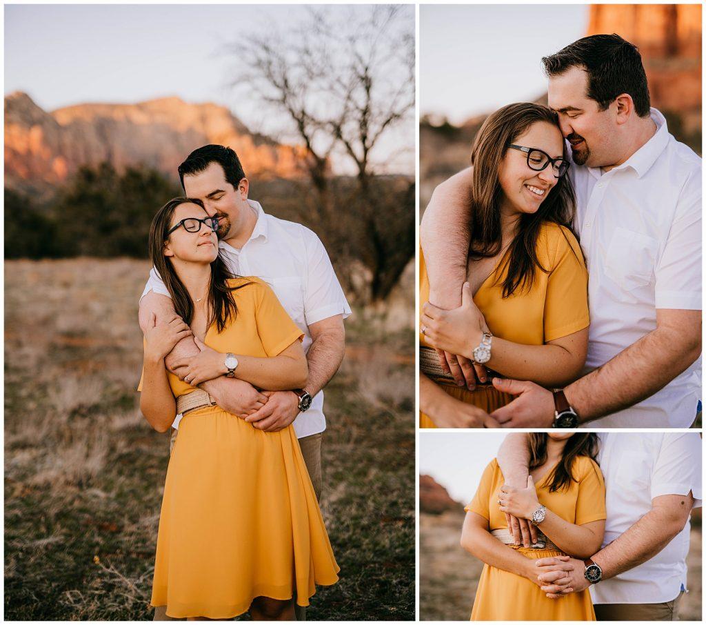 Justin & Leah Engagement Session Sedona AZ 56