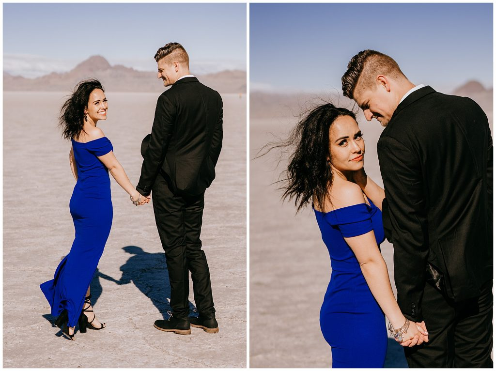 Couples Session Bonneville Salt Flats