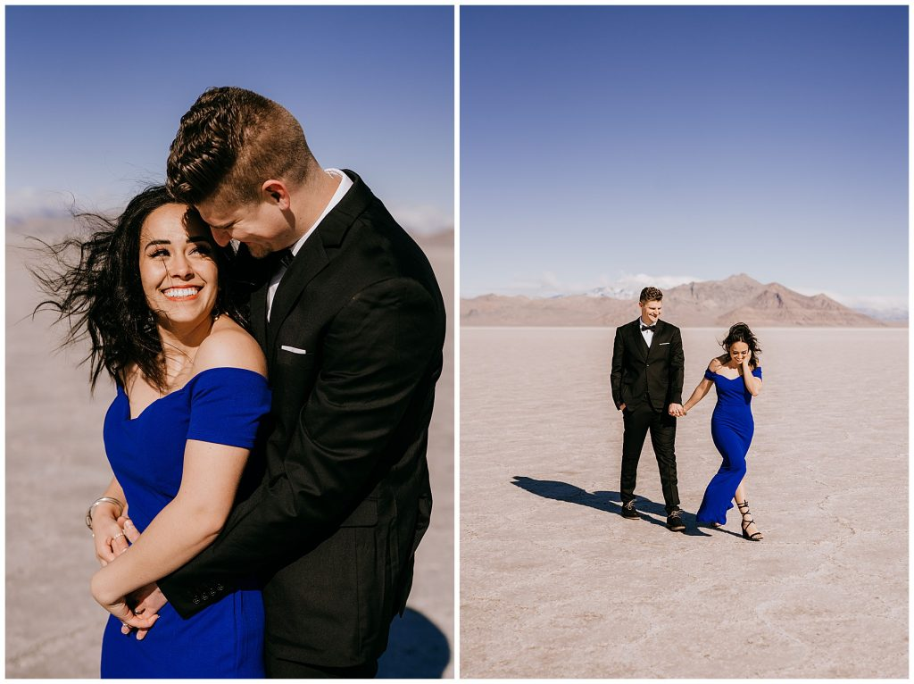 Katelyn & Christian Couples Session Bonneville Salt Flats UT 55