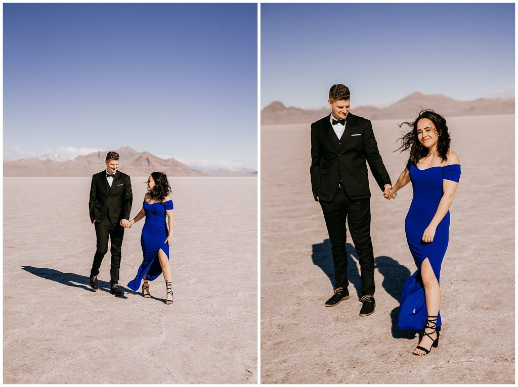 Katelyn & Christian Couples Session Bonneville Salt Flats UT 56