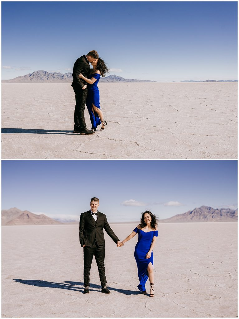 Katelyn & Christian Couples Session Bonneville Salt Flats UT 58