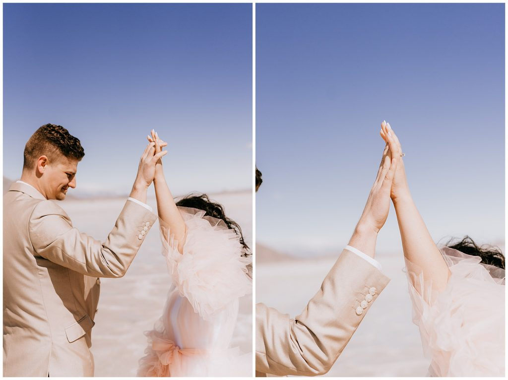 Katelyn & Christian Couples Session Bonneville Salt Flats UT 71