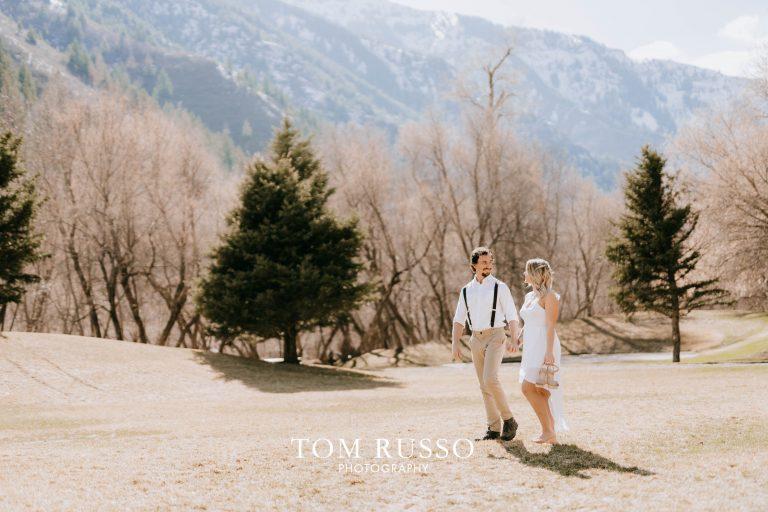 Laura & Austin Engagement Session Provo Canyon UT 4
